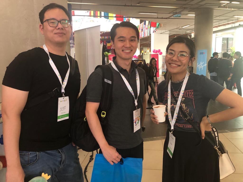 JP Associates IT Recruitment Firm Malaysia - photo of jeff and pam with aspiring developer