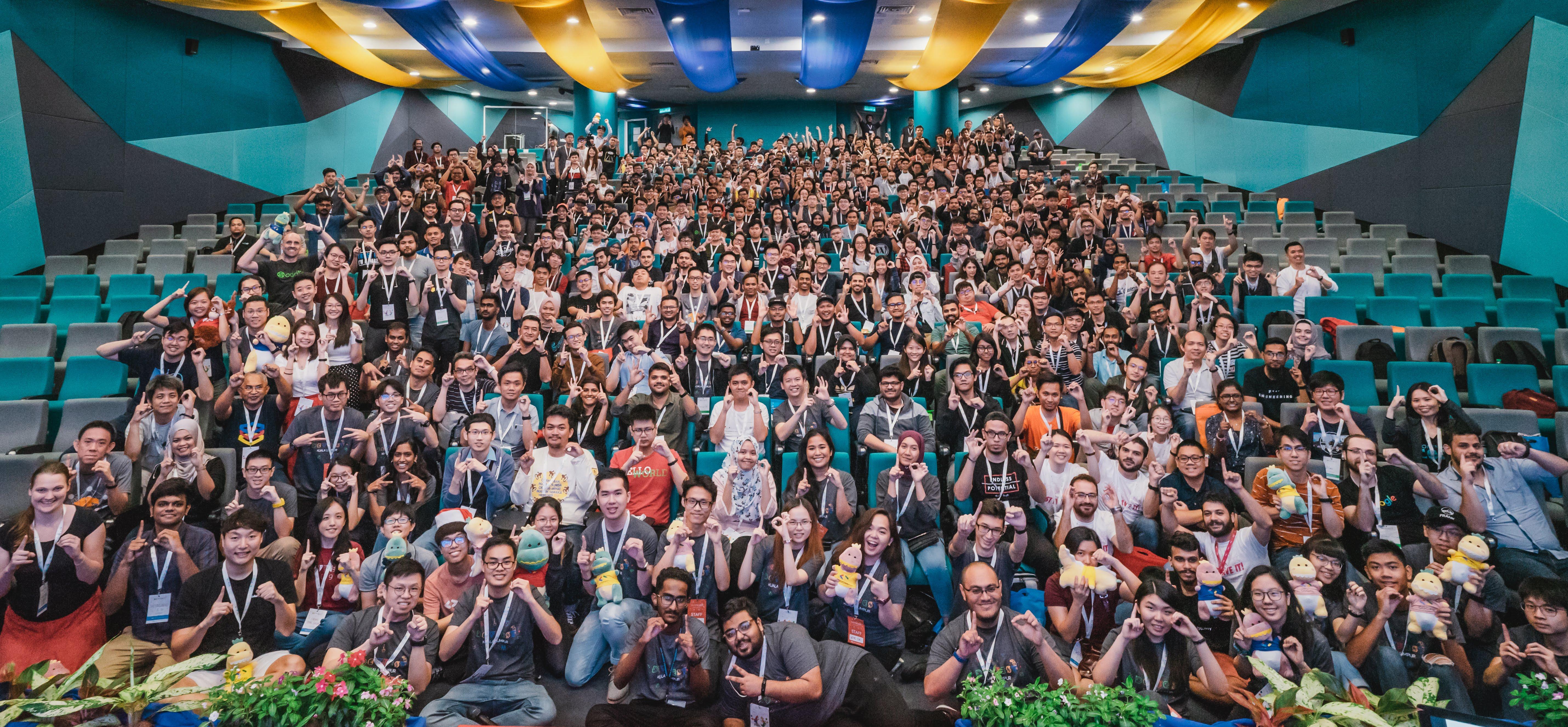 JP Associates IT Recruitment Firm Malaysia - attendees of google developer group kuala lumpur 2019