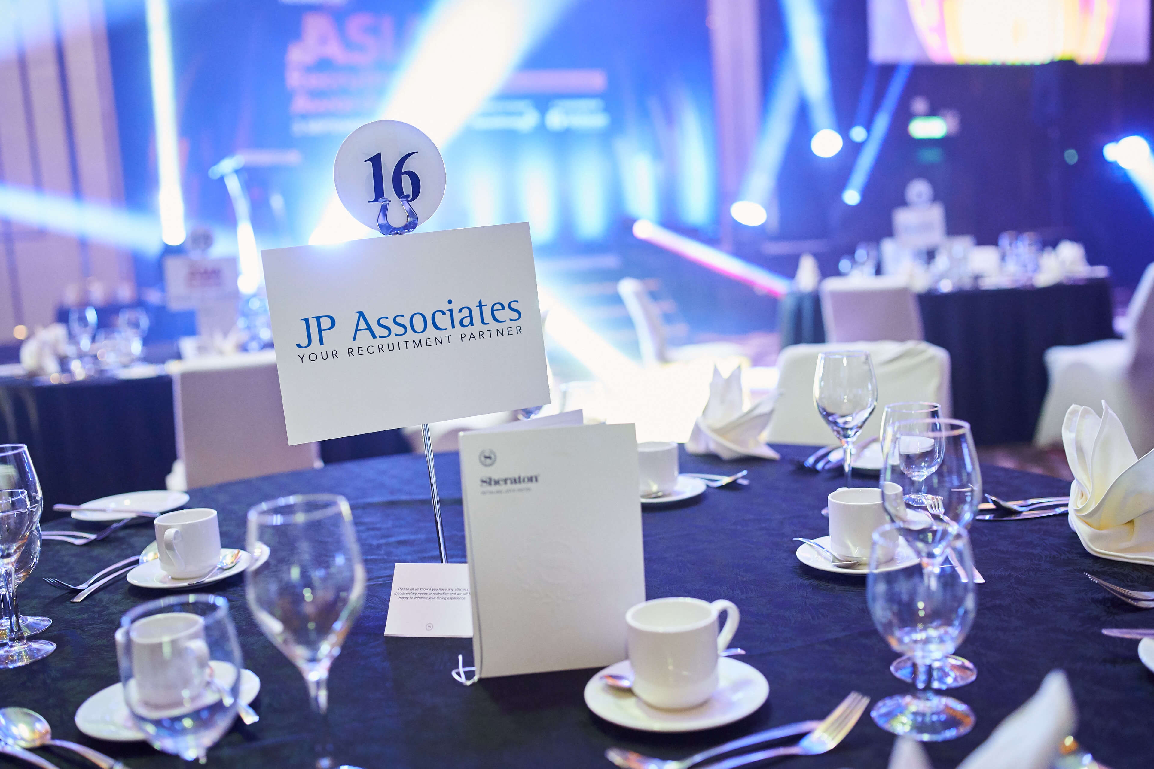 JP Associates IT Recruitment Firm Malaysia - JP Associates table at Asia Recruitment Awards 2020
