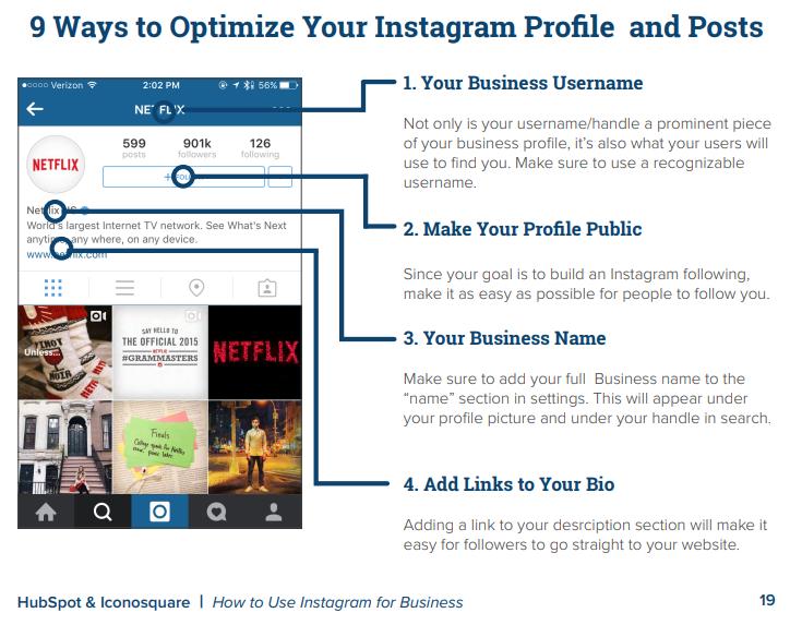 9 ways to optimize insta profile