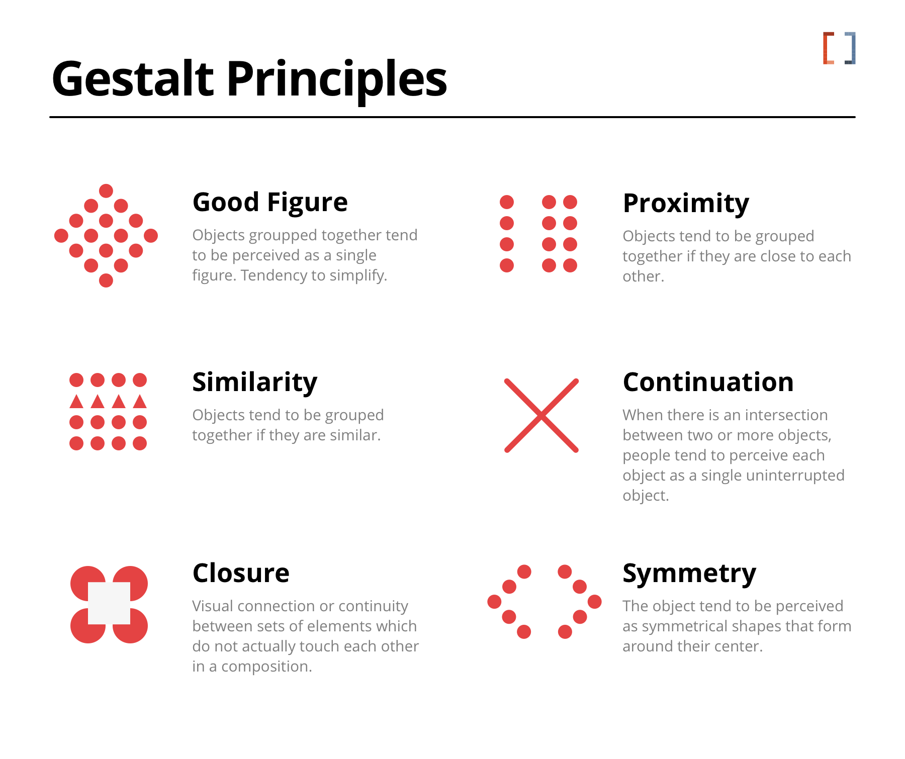 Gestalt Principles for Graphic Design and composition