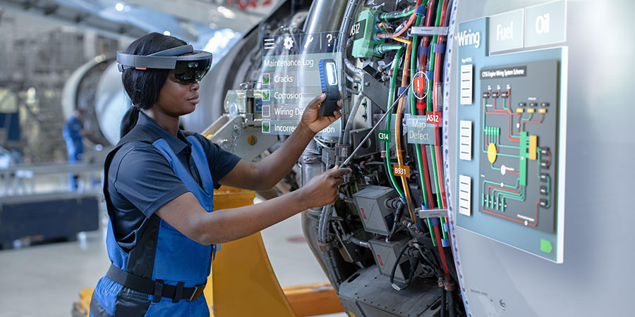 Augmented Reality in Maintenance and Repair