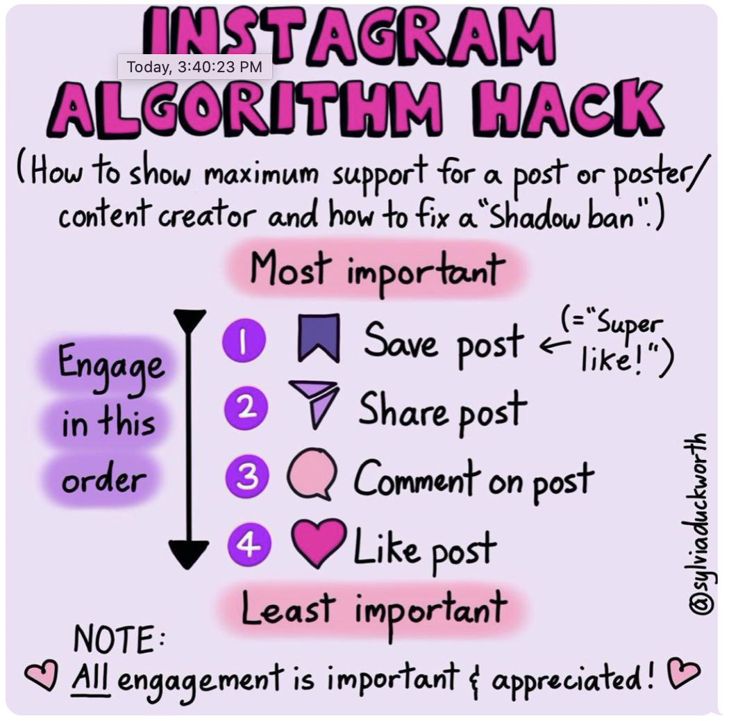 The Instagram algorithm explained