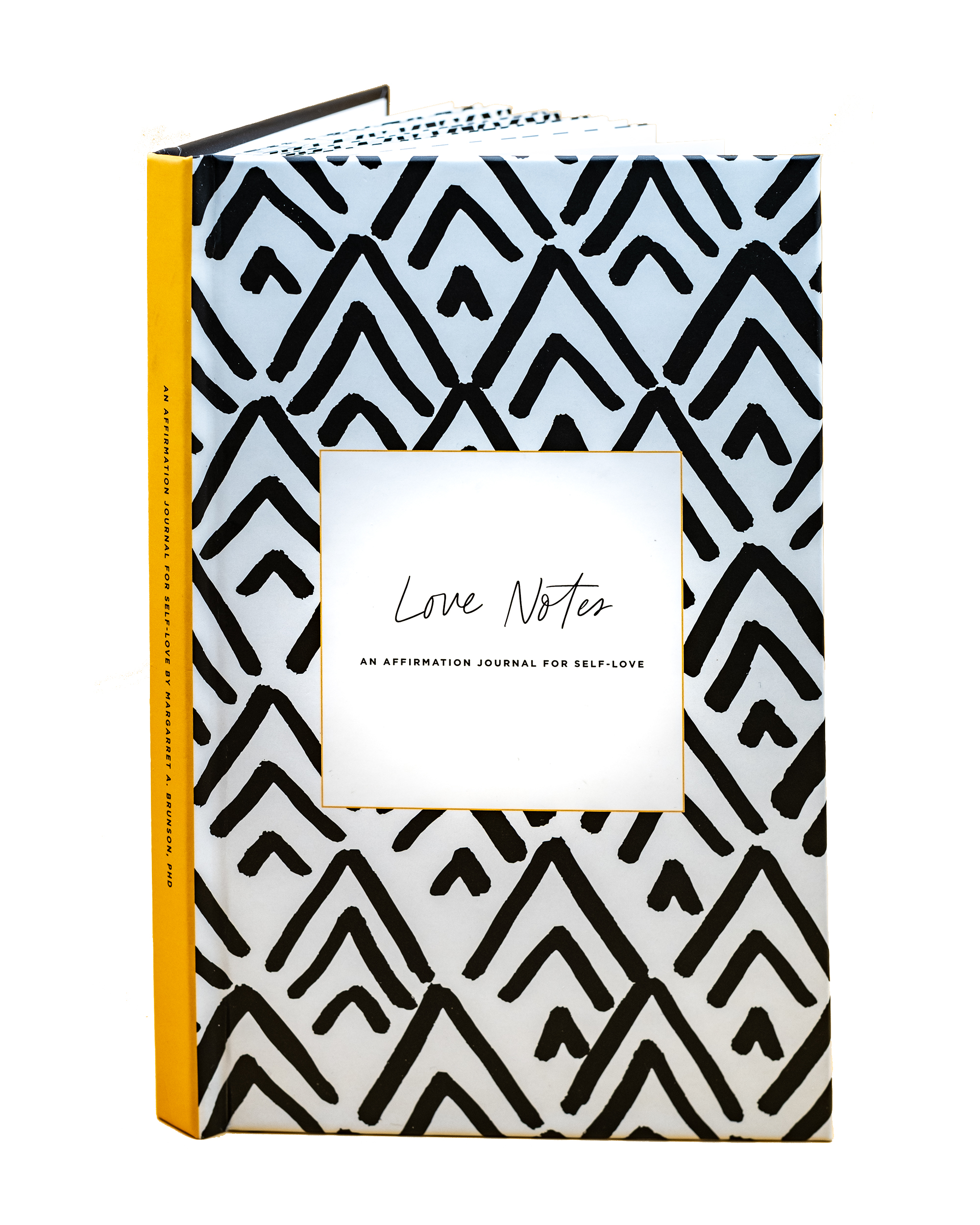 """Love Notes"" Affirmation Journal (hardcover)"
