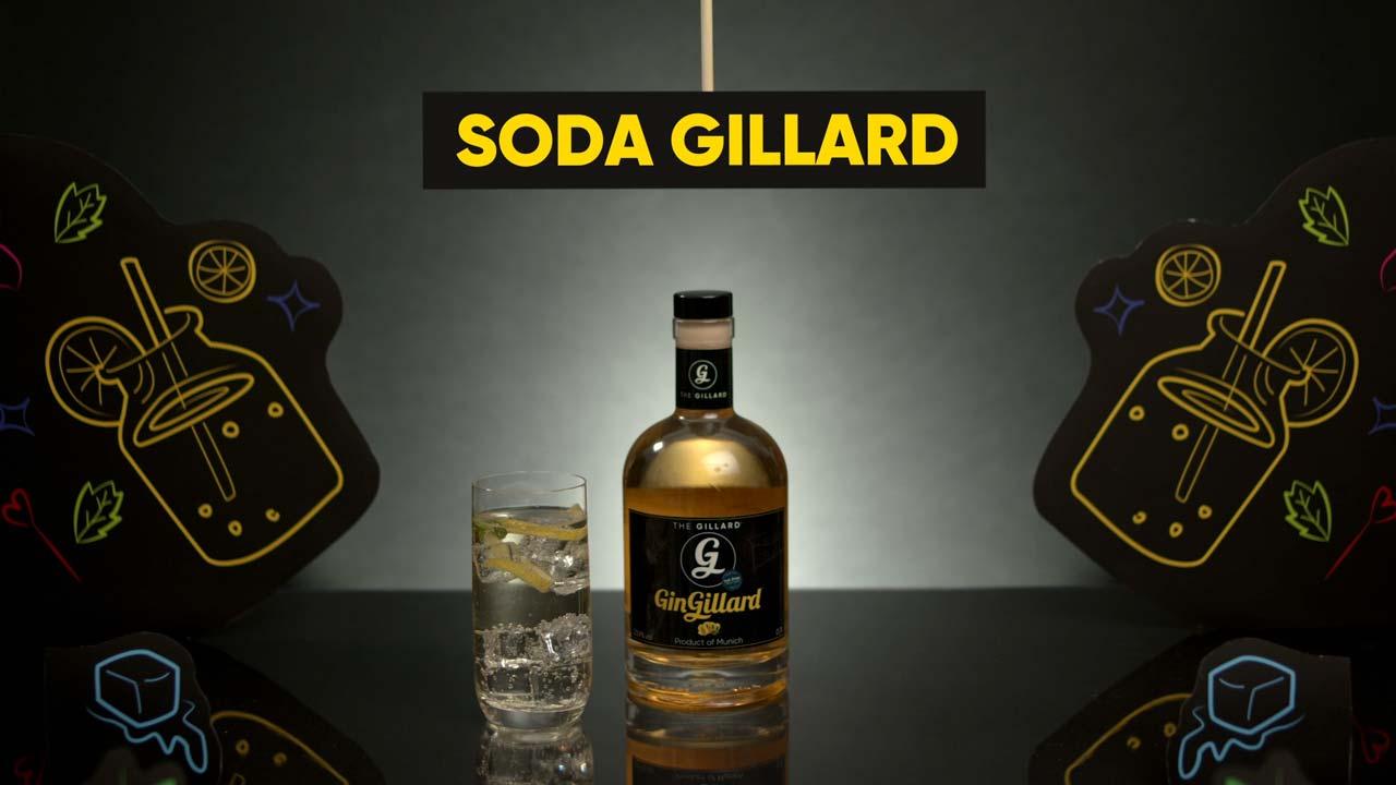 GinGillard Produktvideo - Soda Gillard Thumbnail