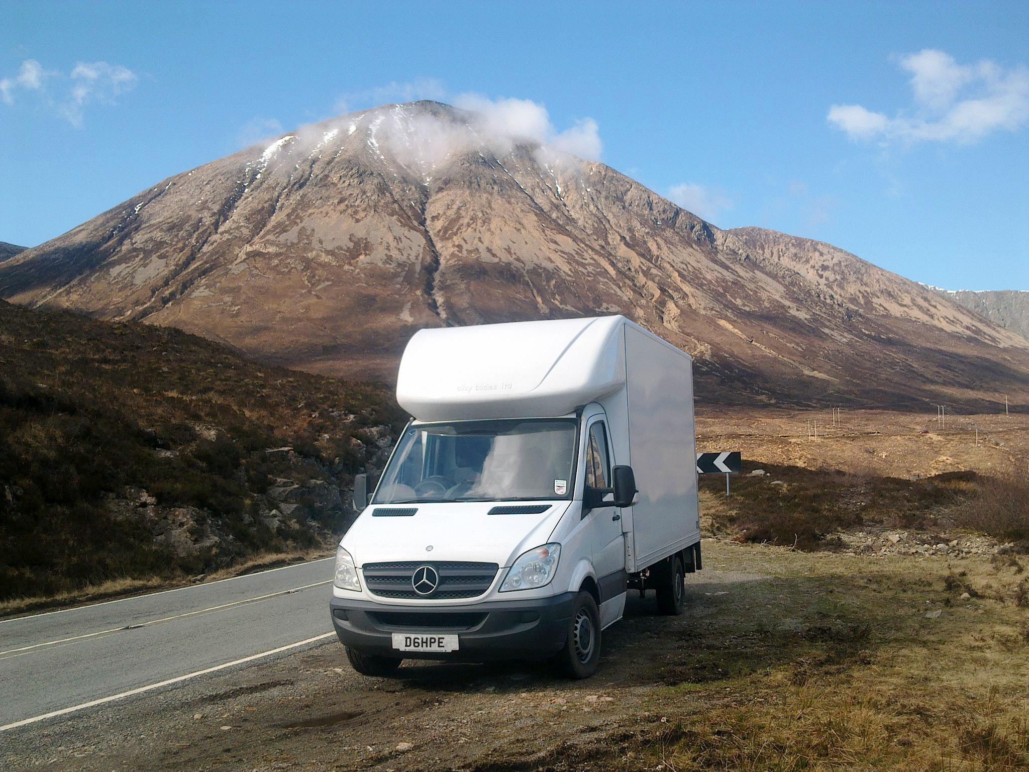 Van and Scottish Background