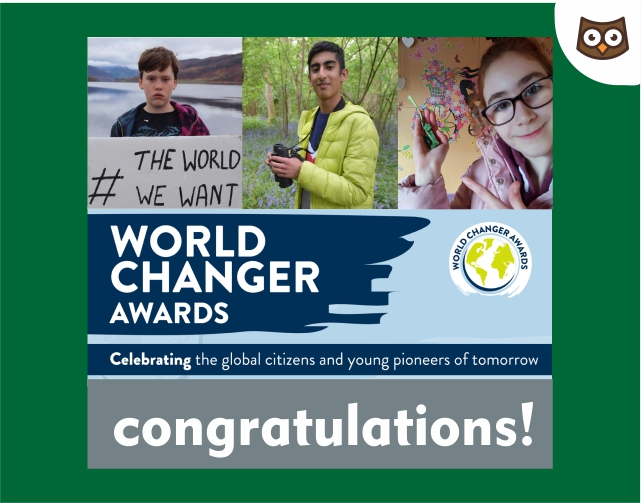 Young Enviro Leaders honoured as World Changers