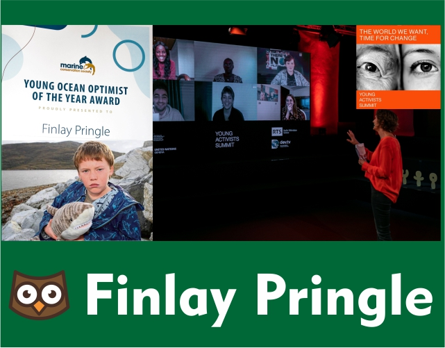 Finlay Pringle wins multiple awards for his work