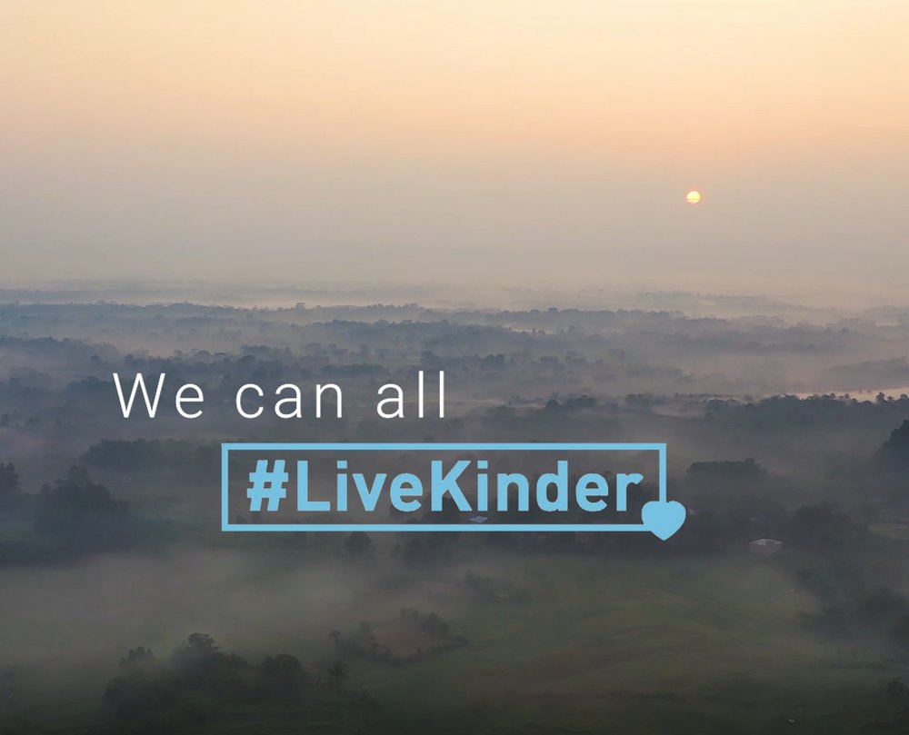 #LIVEKINDER - Director Susie has a new years resolution