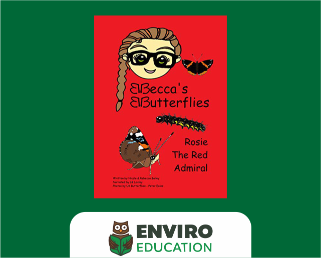 Beccas' Butterflies books - audio versions available