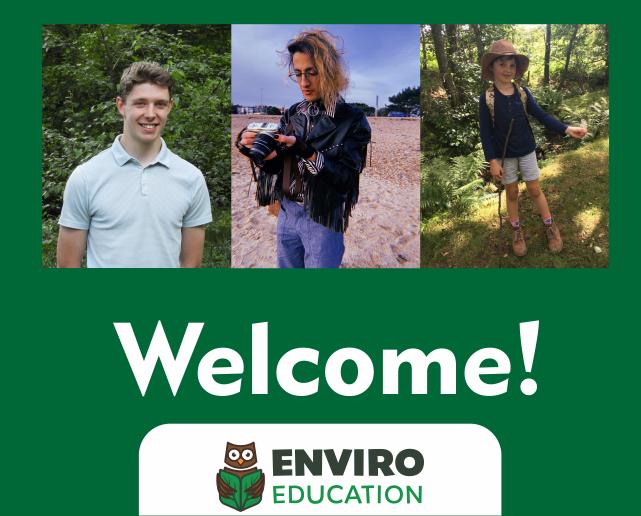 We welcome 3 new EnviroLeaders