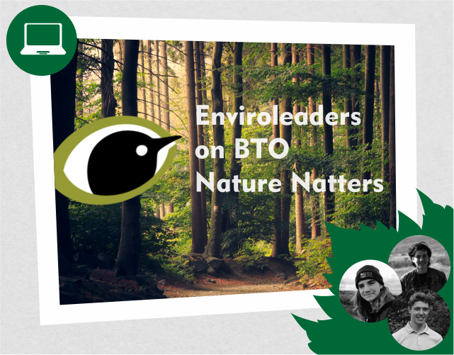 Tune into #BTOYouth #NatureNatter