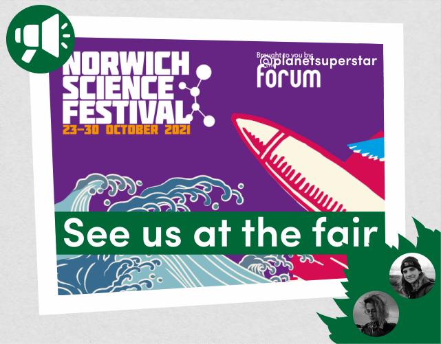 #NorwichSciFest