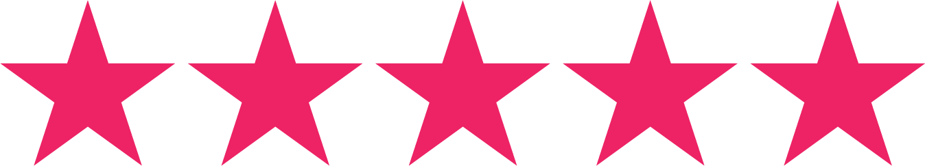 5 star rating based on Facebook reviews