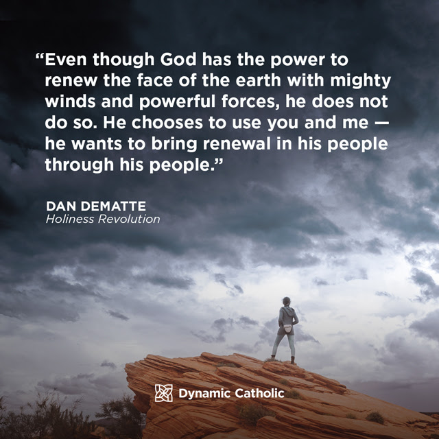 God wants to bring renewal in His people through His people.