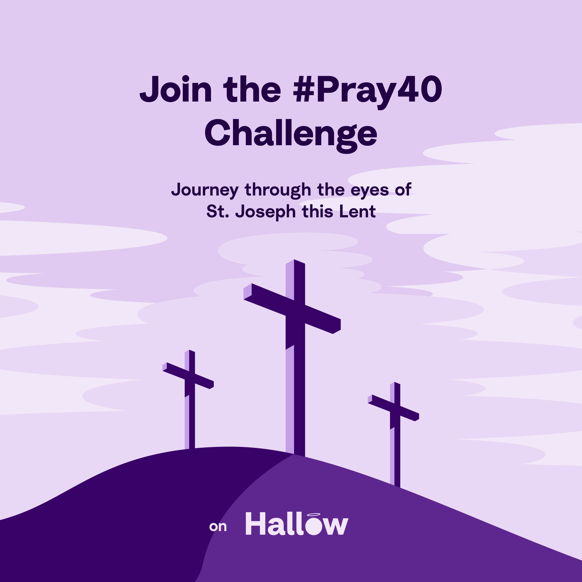 Hallow Prayer Application Ad