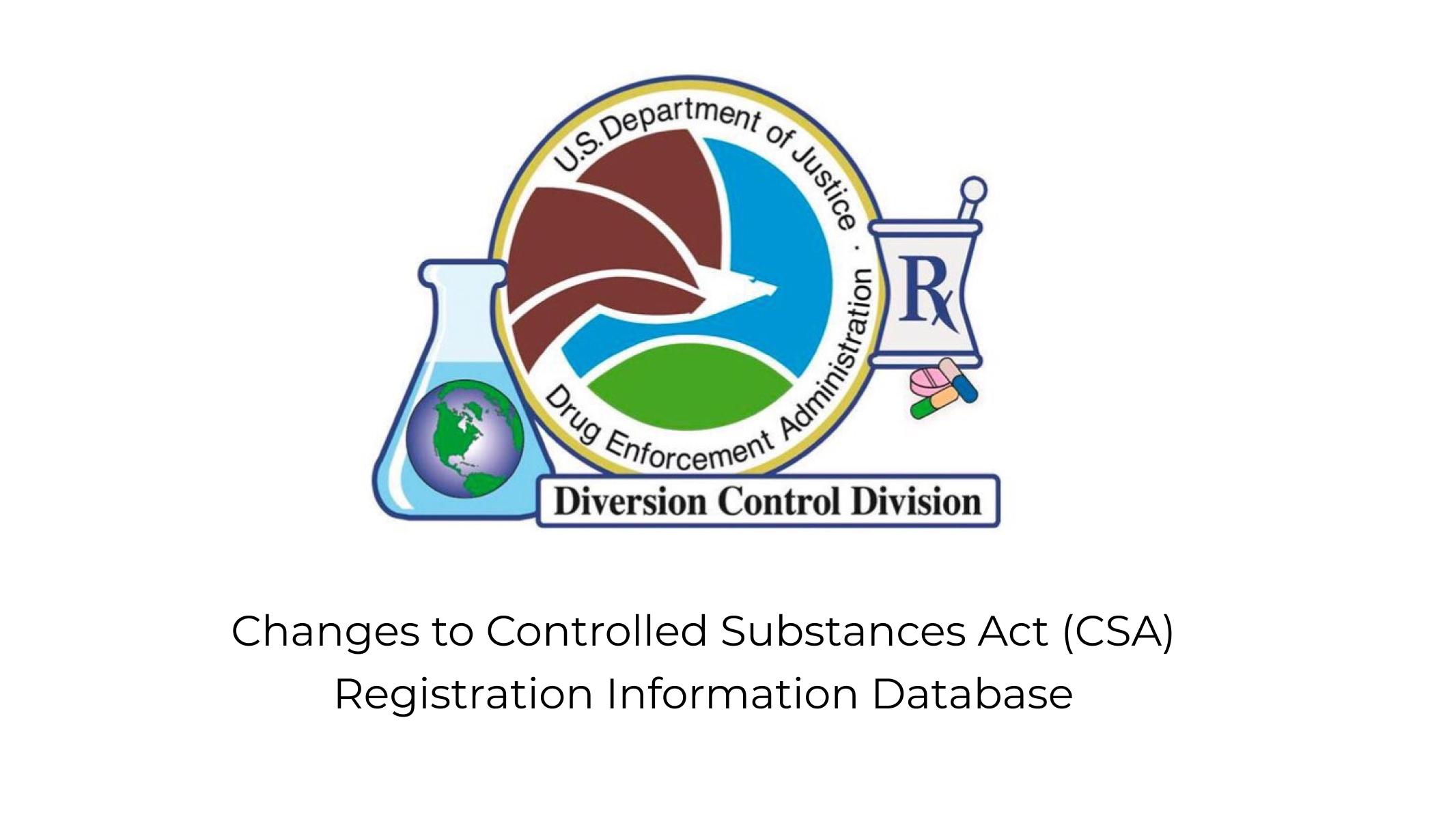 DEA Controlled Substances Act