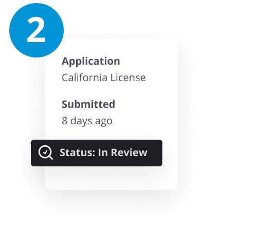 Licensing steps 2