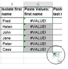 Image 7 Excel - error after copying