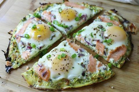 Keto Meal - Egg Breakfast Pizza