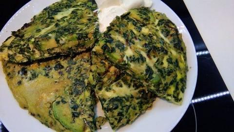 Keto Meal - Avocado Omelette