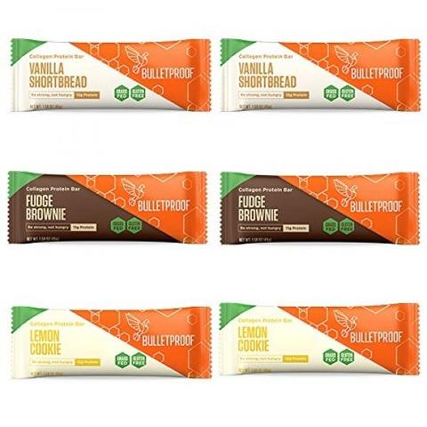 Bulletproof Collagen Bars