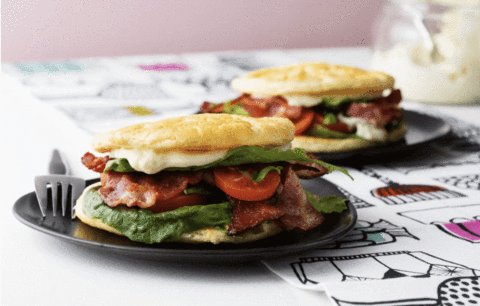 Keto BLT on Cloud Bread