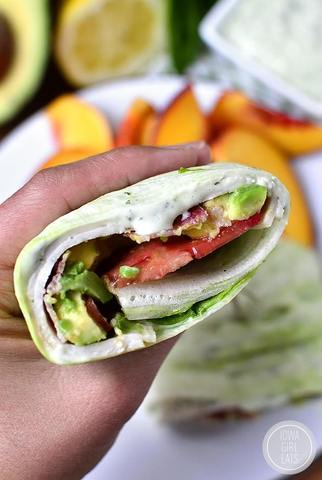 Keto California Wrap BLT