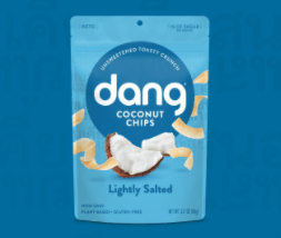 Lightly Salted Dang Coconut Chips