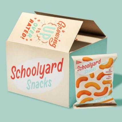Schoolyard Snacks Keto Cheese Puffs