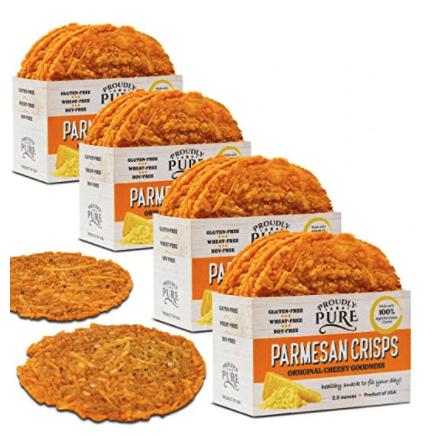 Proudly Pure Parmesan Cheese Crisps
