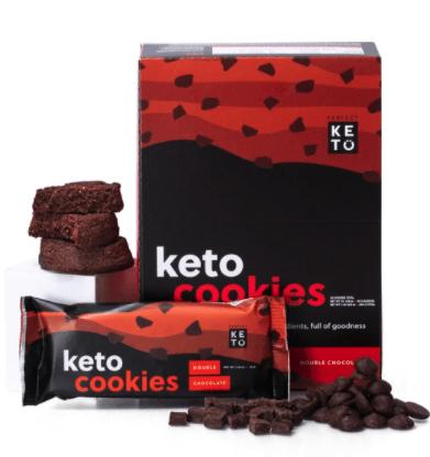 Perfect Keto Double Chocolate Cookies