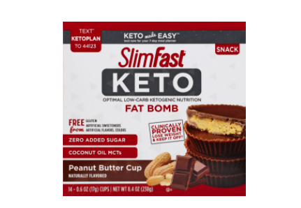 SlimFast Keto Fat Bombs at Kroger