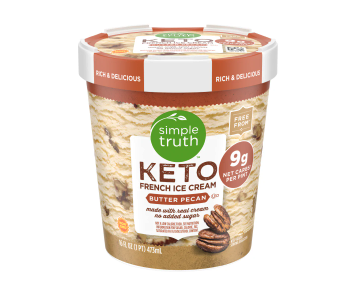 Simple Truth Keto Ice Cream at Kroger