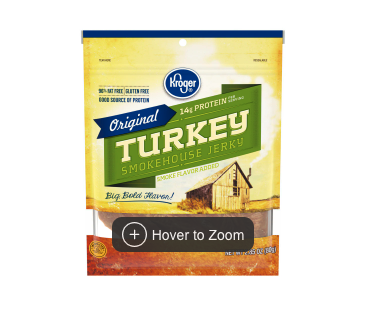 Kroger Original Turkey Smokehouse Jerky