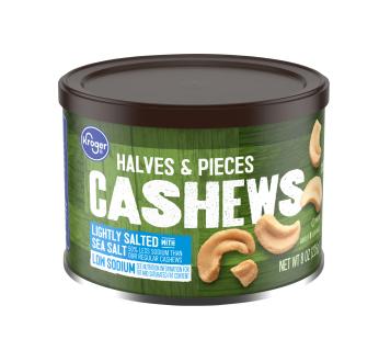 Kroger Lightly Salted Cashews