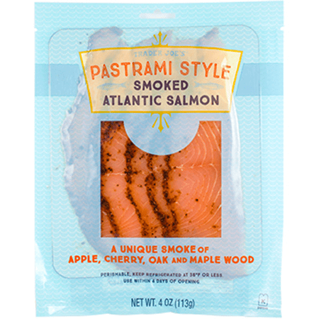 Pastrami Style Smoked Salmon from Trader Joe's