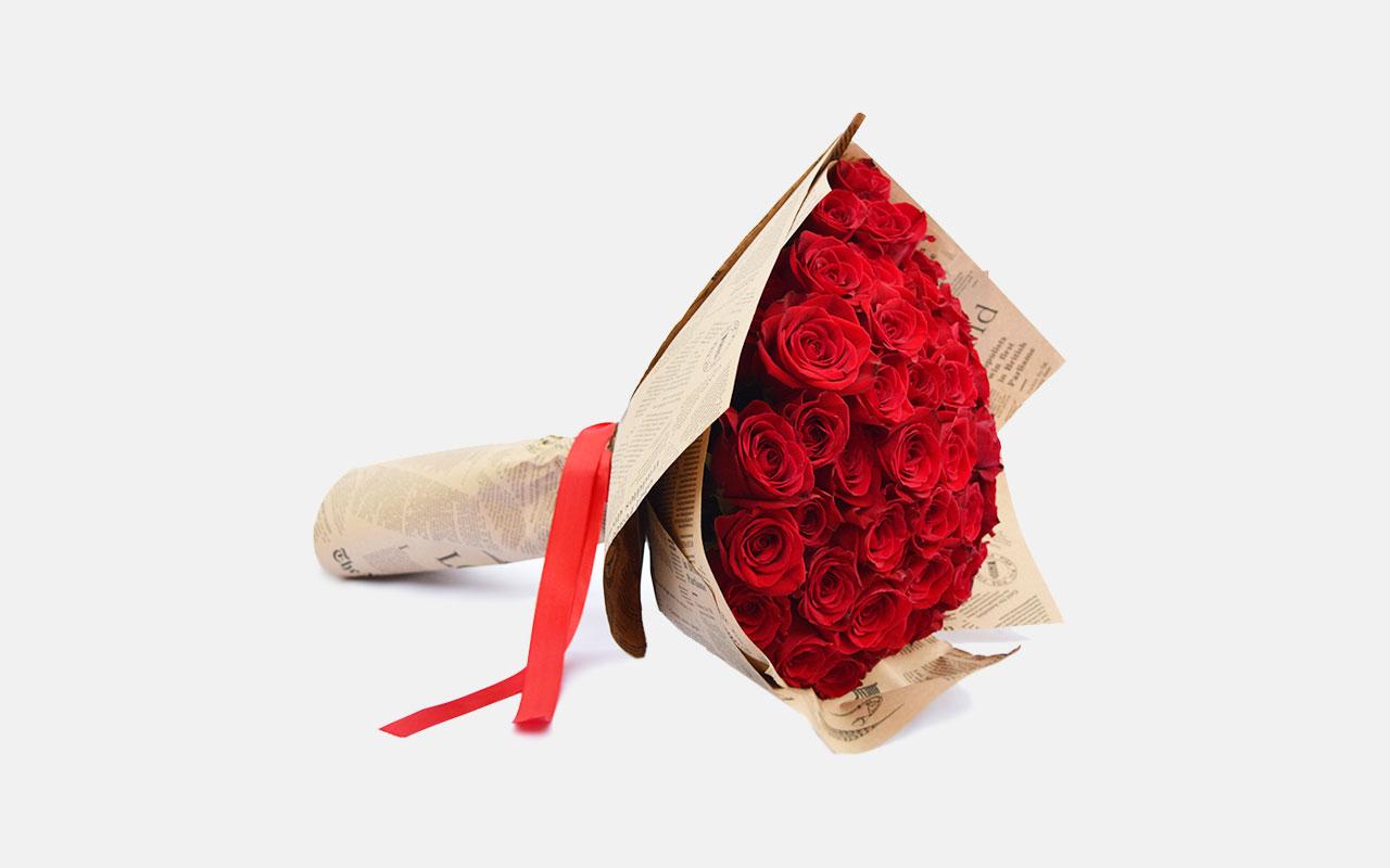 Buket - Crvene ruže - 51 kom.