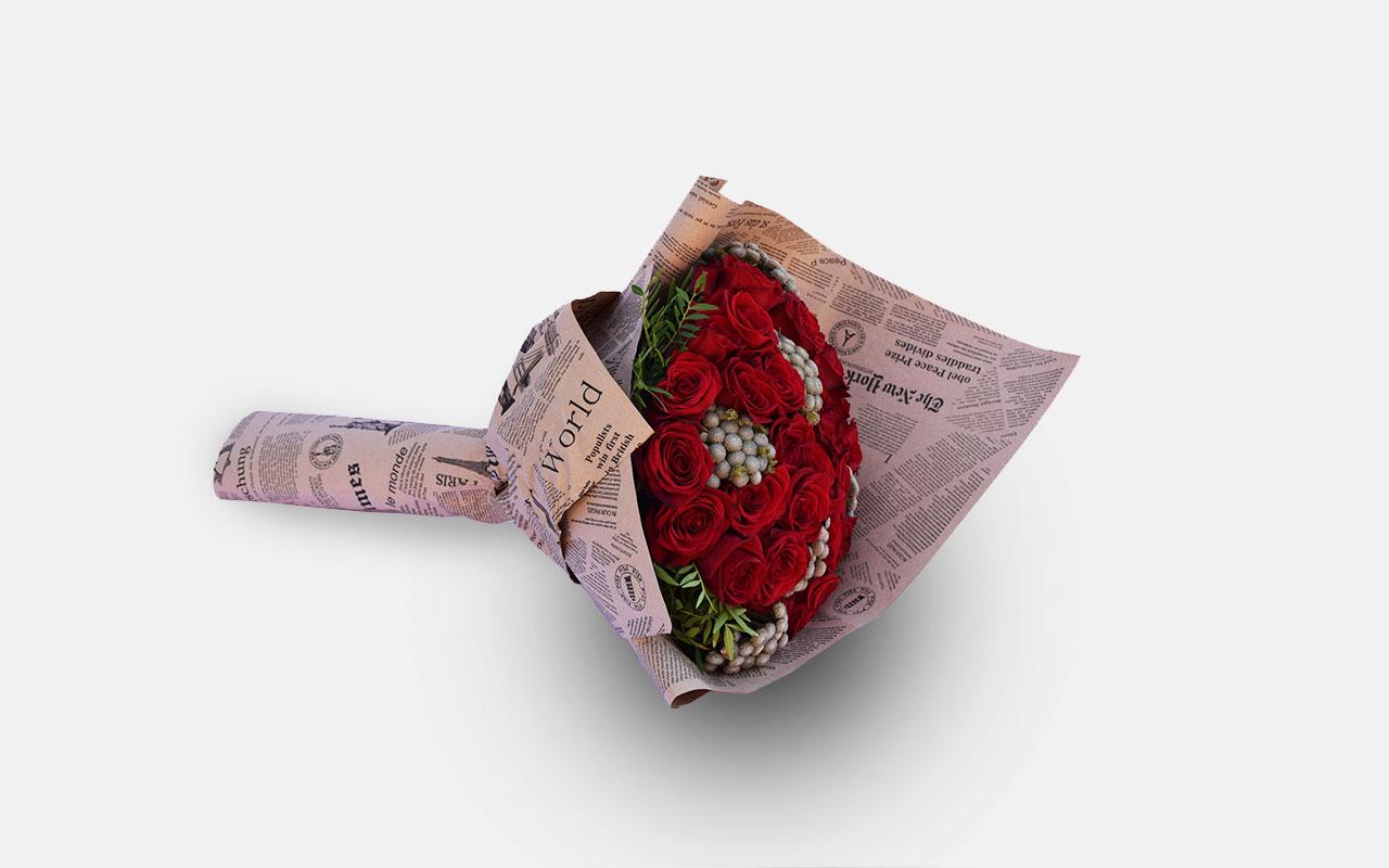Buket - Crvene ruže - 31 kom.
