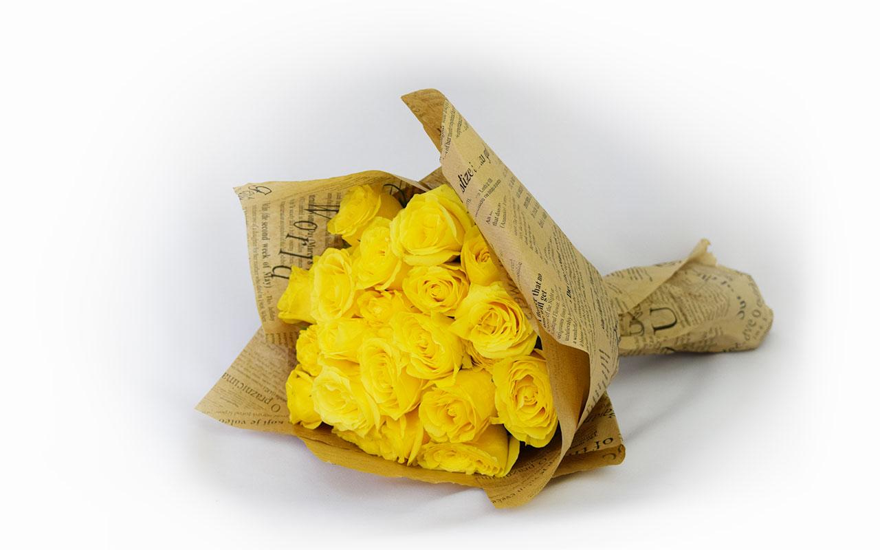 Buket - Žute ruže - 31 kom.