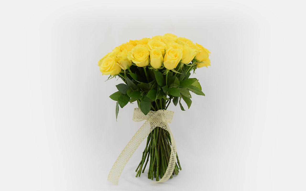 Buket - Žute ruže - 51 kom.