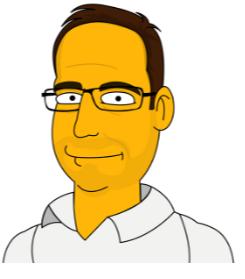Simpsons Drawing of Jonathan