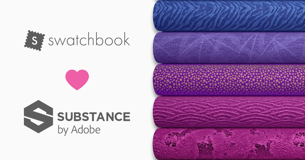 substance adobe swatchbook