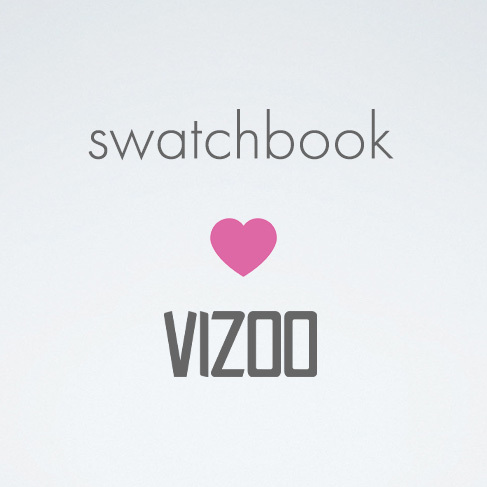 VIZOO becomes official swatchbook service center
