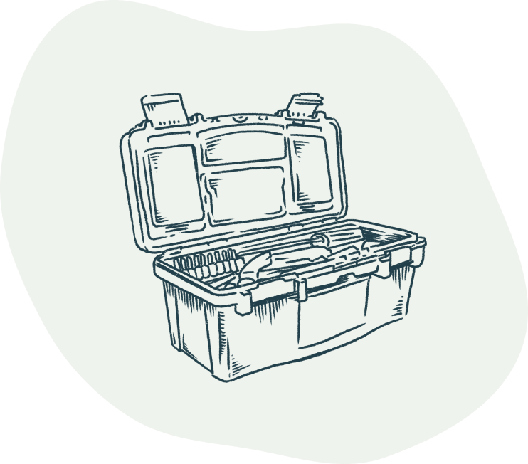 GetGround illustration of a toolbox