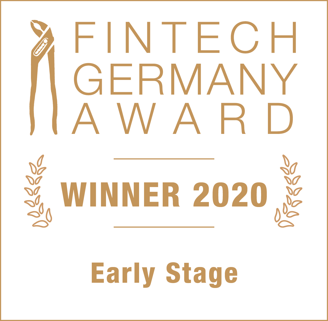 Logo fintech germany award winner 2020 early stage myos