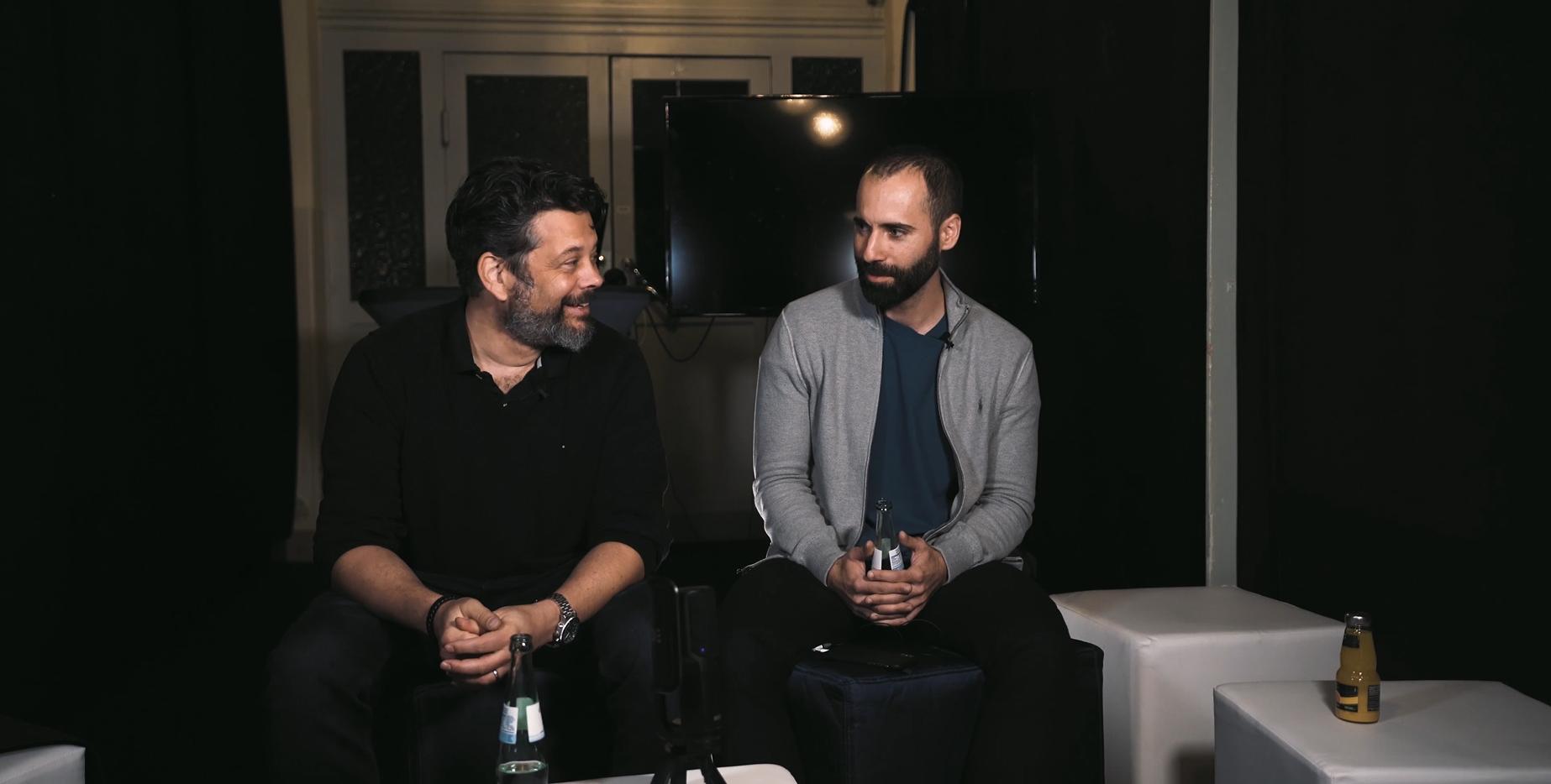 Bernhard Rauscher und Adrian Jaroszynski unterhalten sich über Werbung im E-Commerce.