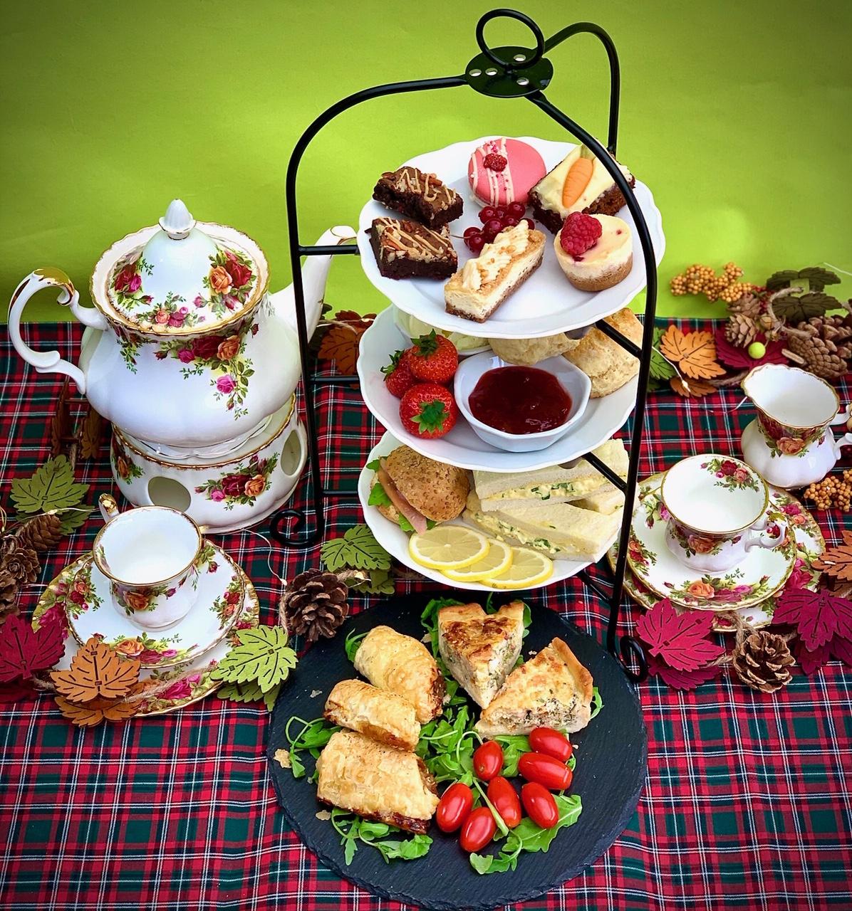 decorative high tea