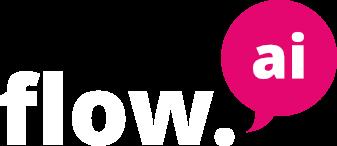 Flow.ai logo illustrating a partner for D3cisive software development services