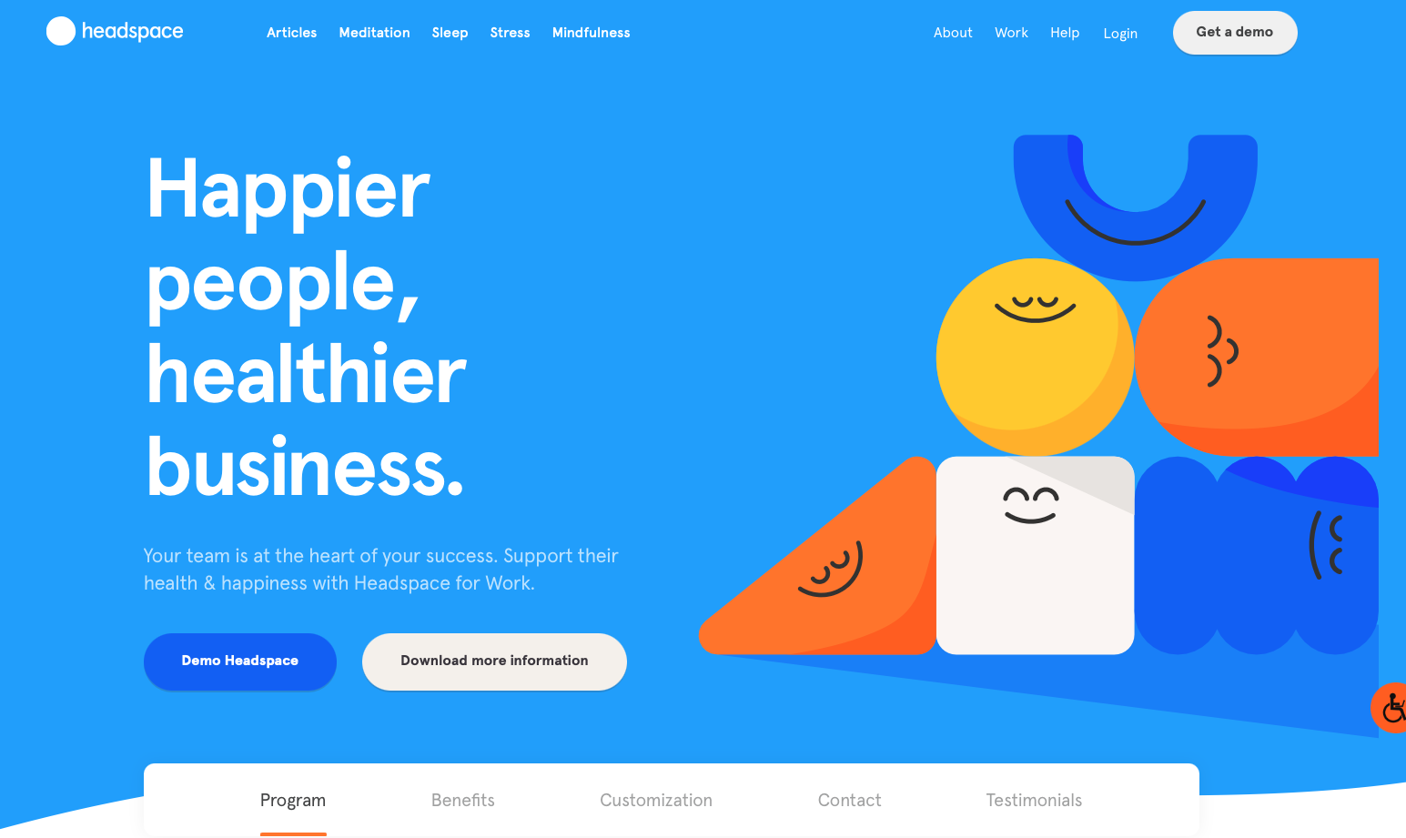 Headspace's healthier business promise